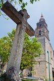 De Kathedraal van Cuernavaca Royalty-vrije Stock Fotografie