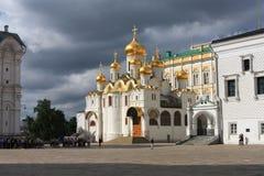 De kathedraal van de Aankondiging stock afbeelding