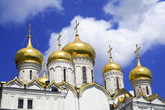 De kathedraal van de Aankondiging stock afbeeldingen