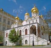 De Kathedraal van de aankondiging, het Kremlin, Moskou royalty-vrije stock foto's