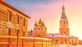 De Kathedraal van de Gradoyakutskytransfiguratie Stock Afbeelding