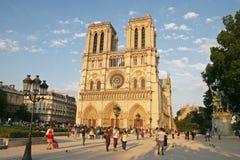 De kathedraal van de Notredame Stock Fotografie