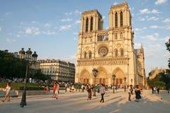 De kathedraal van de Notredame Royalty-vrije Stock Afbeeldingen