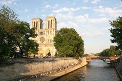 De kathedraal van de Notredame stock foto's