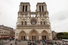 De kathedraal van de Notredame Royalty-vrije Stock Foto's