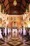 De Kathedraal van de Onbevlekte Ontvangenis in Chantaburi in Thai Royalty-vrije Stock Afbeeldingen