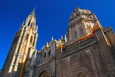 De Kathedraal van de primaat van Heilige Mary van Toledo stock foto's