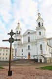 De kathedraal van de Transfiguratie van Lord in Vitebsk Royalty-vrije Stock Afbeelding