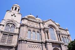 De Kathedraal van de veronderstelling van Varna Stock Afbeelding