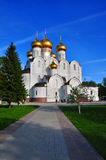 De Kathedraal van de veronderstelling Yaroslavl, Rusland Stock Afbeelding