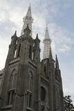 De Kathedraal van Djakarta Royalty-vrije Stock Foto's