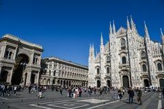 De Kathedraal van Duomo in Milaan Royalty-vrije Stock Foto