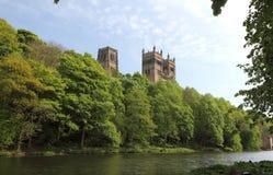 De Kathedraal van Durham Stock Fotografie