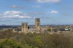 De Kathedraal van Durham Stock Afbeelding
