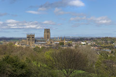 De Kathedraal van Durham Stock Foto's