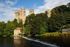 De Kathedraal van Durham Stock Afbeeldingen