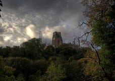 De Kathedraal van Durham stock foto