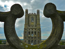 De kathedraal van Ely Stock Afbeeldingen