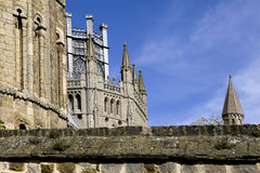 De kathedraal van Ely Stock Foto