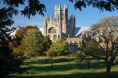 De Kathedraal van Ely, Cambridgeshire, Engeland royalty-vrije stock afbeeldingen