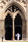De Kathedraal van Ely, Cambridgeshire, het UK Royalty-vrije Stock Foto
