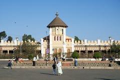 De kathedraal van Enda Mariam complex in asmara Eritrea stock afbeeldingen