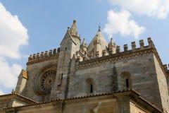 De Kathedraal van Evora Royalty-vrije Stock Foto