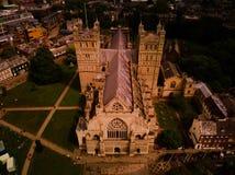 De kathedraal van Exeter Royalty-vrije Stock Foto