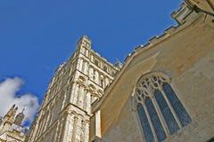 De Kathedraal van Exeter Stock Foto's