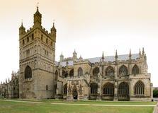 De Kathedraal van Exeter Stock Foto