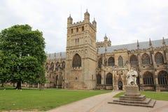 De kathedraal van Exeter Stock Fotografie