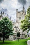 De Kathedraal van Exeter, Devon het UK Stock Foto