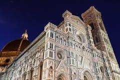 De Kathedraal van Florence (Duomo) stock foto's