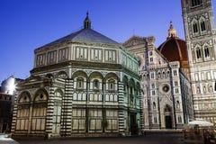 De Kathedraal van Florence (Duomo) stock afbeeldingen