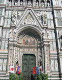 De Kathedraal van Florence Italy Stock Foto