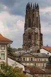 De kathedraal van Fribourg Royalty-vrije Stock Foto