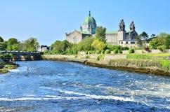 De Kathedraal van Galway Stock Afbeelding