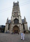De kathedraal van Gent royalty-vrije stock afbeelding