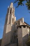 De kathedraal van Girona Stock Afbeelding