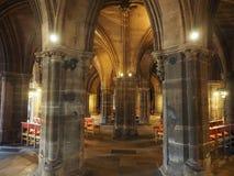 De kathedraal van Glasgow in Glasgow stock foto's