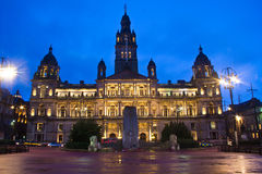 De Kathedraal van Glasgow Stock Afbeelding