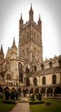 De Kathedraal van Gloucester stock foto's
