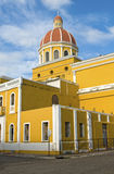De Kathedraal van Granada, Nicaragua Royalty-vrije Stock Afbeeldingen