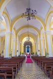 De Kathedraal van Granada in Nicaragua Royalty-vrije Stock Afbeeldingen