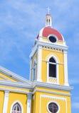 De Kathedraal van Granada in Nicaragua Royalty-vrije Stock Afbeelding