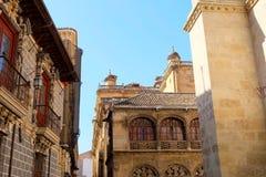 De Kathedraal van Granada, Spanje stock fotografie