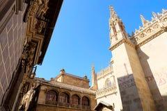 De Kathedraal van Granada, Spanje royalty-vrije stock afbeelding