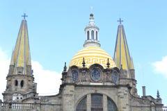 De Kathedraal van Guadalajara Stock Afbeeldingen