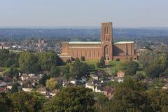 De Kathedraal van Guildford Stock Fotografie