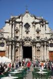 De Kathedraal van Havana Royalty-vrije Stock Afbeelding